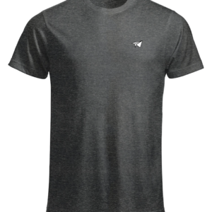 Vêtement t-shirt néfaste avion gris face